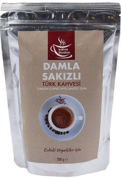 Kahve Tiryakisi Damla Sakızlı Türk Kahvesi 200 gr Paket