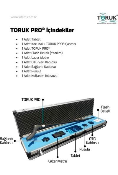 Toruk Pro Yer Altı Görüntüleme Cihazı