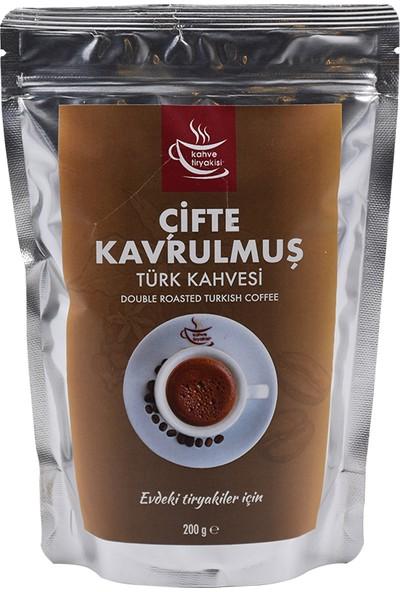 Kahve Tiryakisi Çifte Kavrulmuş Türk Kahvesi 200 gr Paket