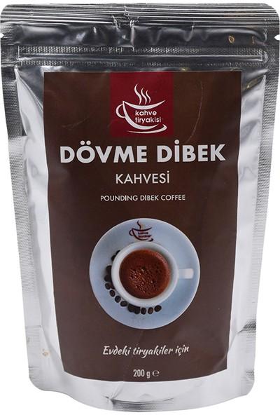 Kahve Tiryakisi Dövme Dibek Kahvesi 200 gr Paket