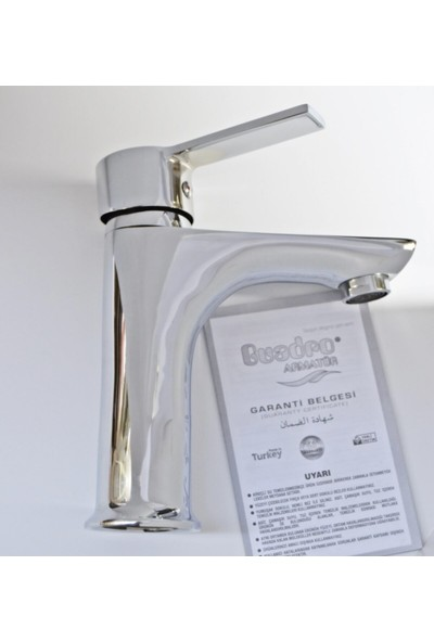 Guadro Krom Banyo Lavabo Musluğu Çeşmesi Bataryası