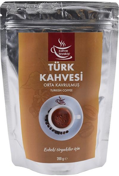 Kahve Tiryakisi Orta Kavrulmuş Türk Kahvesi 200 gr