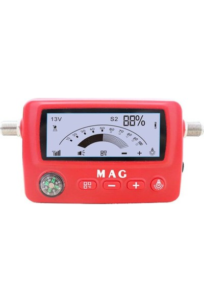 Mag MG-6303 LCD Ekranlı Digital Uydu Bulucu