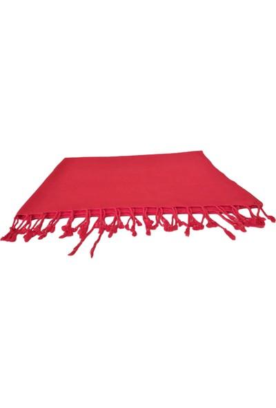 Ladya Home Ladya Kırmızı Renkli Taşlama Peştamal 90 x 170 cm