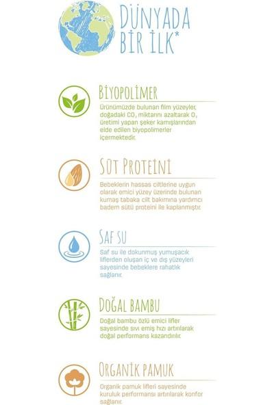 Sleepy Bio Natural Bebek Bezi 3 Numara Midi 28 Adet + Bio Natural Islak Havlu Hediyeli
