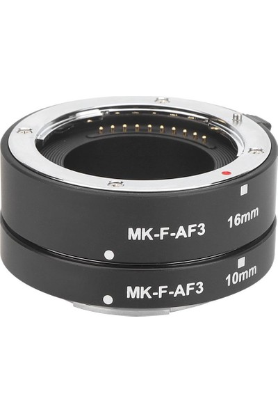 Meike Mk-F-Af3 Fujifilm x Serisi Makineler Için Meike Auto Macro Extension Tüp