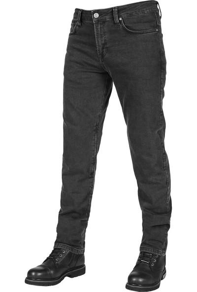 Urbanizer Black Cordura Korumalı Motosiklet Kot Pantolonu