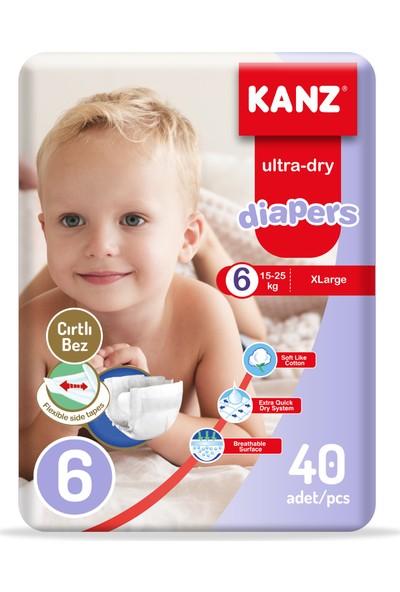Kanz Bebek Bezi 6 Numara 40LI