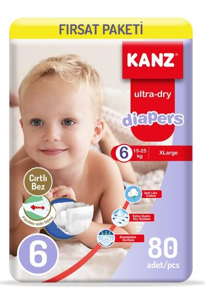 Kanz Bebek Bezi 6 Numara Fırsat Paketi 2X40