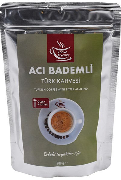 Kahve Tiryakisi Acı Bademli Türk Kahvesi 200 gr