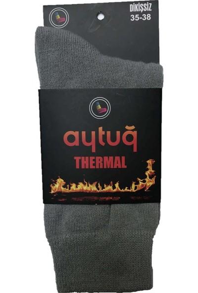 Aytuğ Aytuğkadın Şardonlu Ekstra Termal Soket Çorap