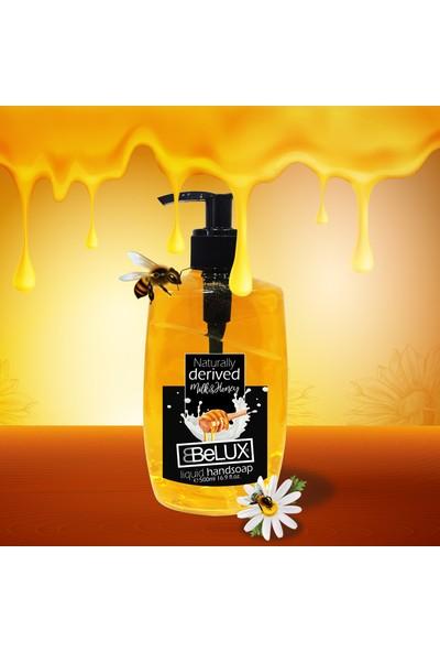 Belux 3'lü Set 500 ml Mıvı Sabun Milk Honey-Ocean-Rose