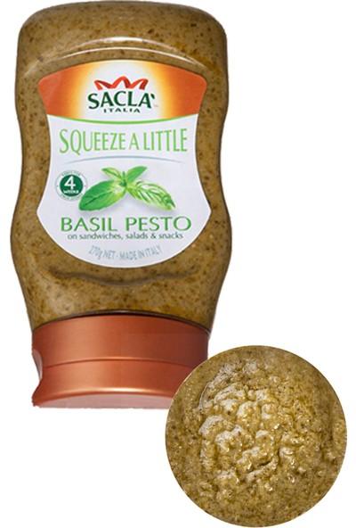 Sacla Pesto Squeezy-Fesleğenli Makarna Sosu 270 gr
