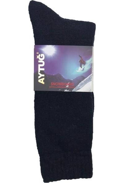 Aytuğ Aytuğsnowboard Erkek Ekstra Yünlü Kışlık Termal Çorap