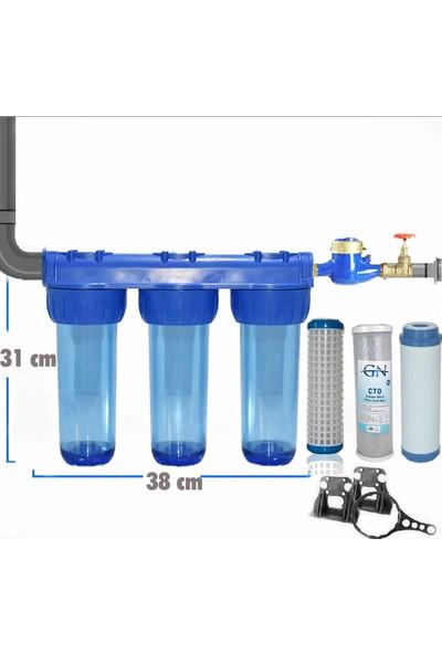 Aqua Bella Daire Girişi Su Arıtma Cihazı Çamur Önleyici