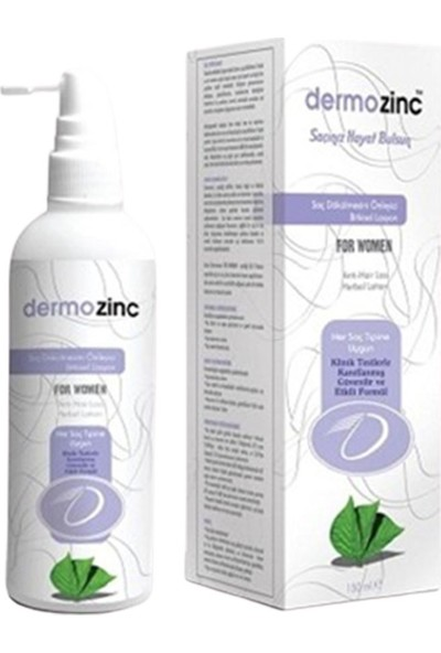 Dermozinc For Women Bitkisel Saç Losyonu 150 ml