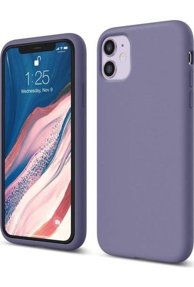 Atalay Apple iPhone 11 Lansman Silikon Kılıf Petrol Mavisi