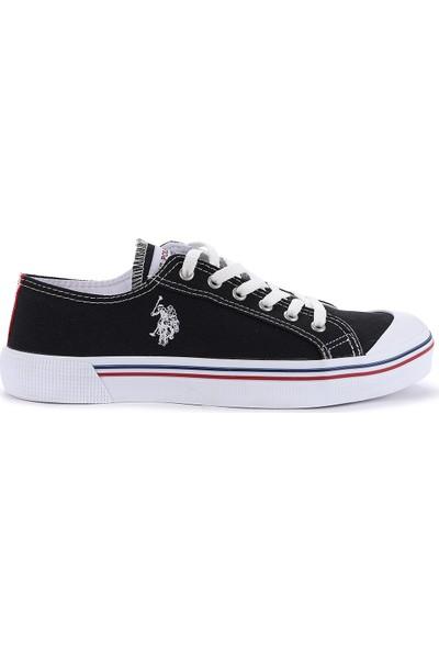U.S. Polo Assn. Penelope Günlük Yürüyüş Erkek Spor Ayakkabı Siyah-Beyaz