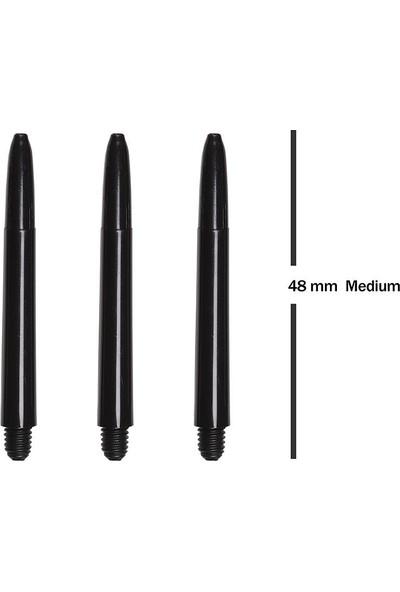 Bora Dart Shaft Siyah Medium 1 Set