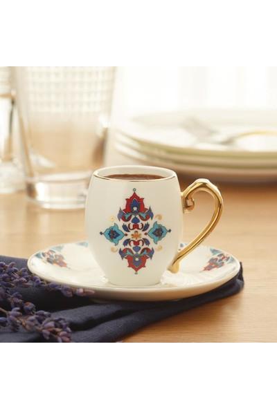 Karaca Firuzan 6 Kişilik Kahve Fincanı Takımı