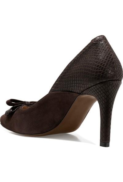 İnci Samo Kahverengi Kadın Gova Ayakkabı