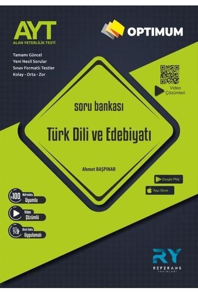 Referans Optimum AYT Türk Dili ve Edebiyatı Tamamı Video Çözümlü Soru Bankası (Kolay-Orta-Zor)