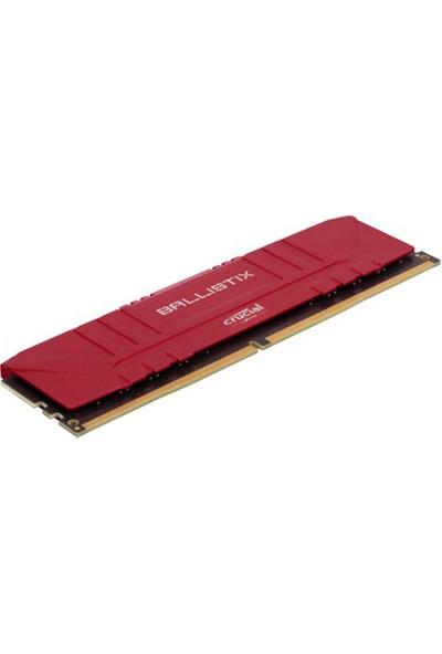 Crucıal Ballıstıx 8 GB DDR4 3200 Mhz CL16 BL8G32C16U4R Kutusuz Ram