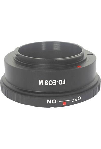 Ayex Canon Eos M Için Canon Fd Lens Kullanım Adaptörü