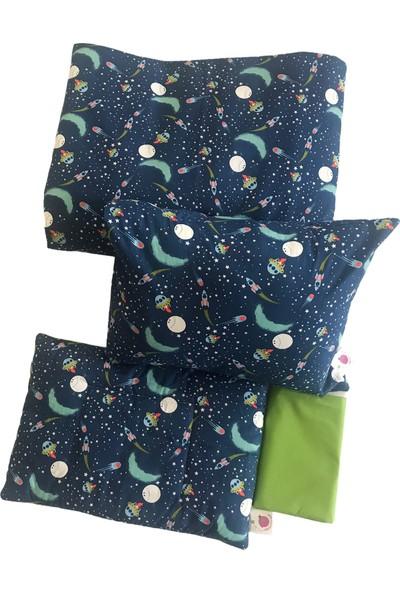 Daphne Kids Style Lacivert Uzay Bebek Nevresim Takımı