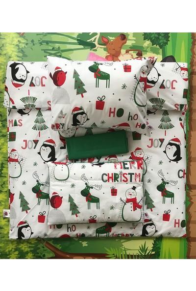 Daphne Kids Style Merry Christmas Bebek Nevresim Takımı
