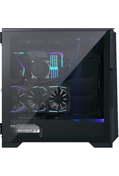 Phanteks Eclipse P500 Air Atx Kasa Temperli Cam Saten Siyah
