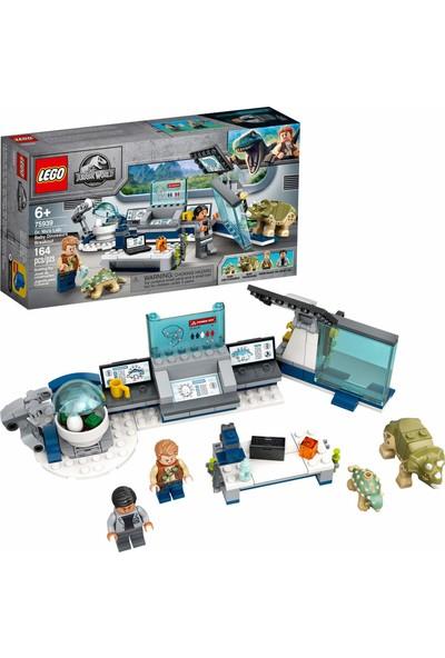 LEGO Jurassic World Eğlenceli Dinozor Oyuncağı Yapı Kiti