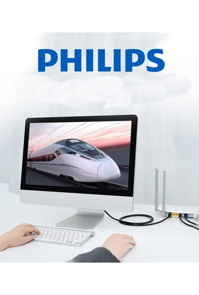 Philips SWA1820 Cat7 10 Gigabit Kategori 7 RJ45 Ethernet Ağ Kablosu - 8m