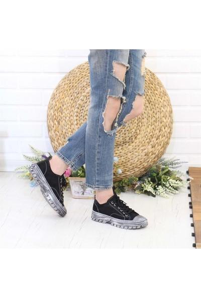 Divamod ST03776 Düz Taban Sneaker Convers Kadın Ayakkabı