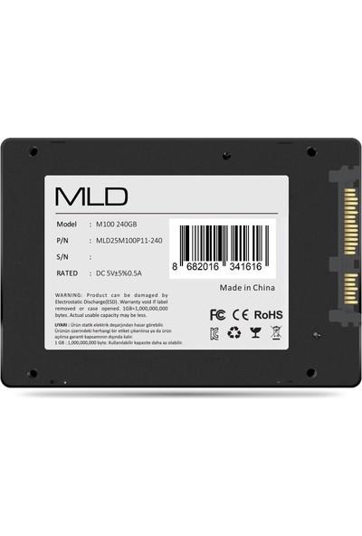 """MLD M100 2.5"""" 240GB 530MB-520MB SATA3 SSD (MLD25M100P11-240)"""