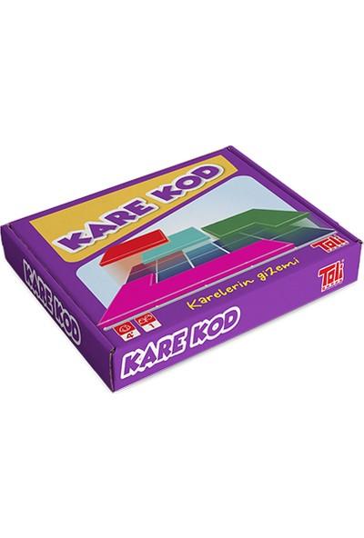 Toli Games Kare - Kod Karelerin Gizemi Zeka Oyunu