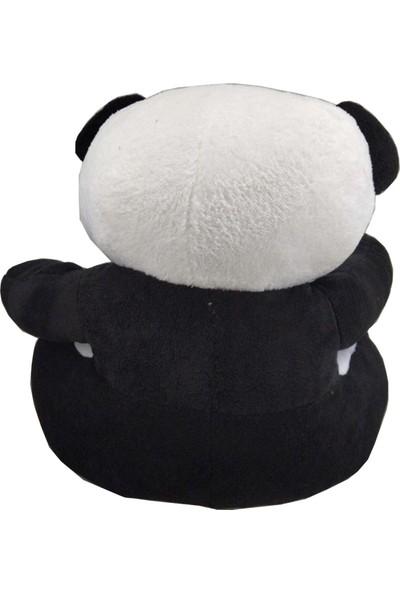 Ay Çocuk Peluş Panda Bebek Çocuk Koltuğu 65 cm