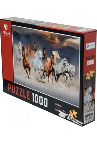Adam Games Horses Atlar 1000'lik Puzzle