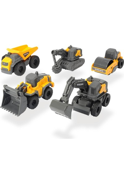 Dickie Toys Volvo Micro Iş Makineleri 722008