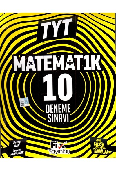 Fix TYT Matematik 10 Denemeleri