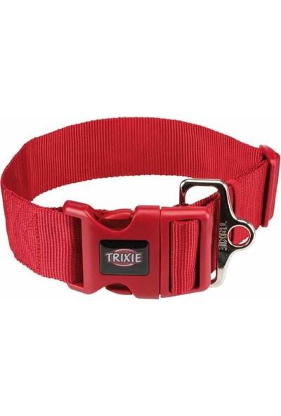 Trixie Köpek Premium Boyun Tasması M-L Kırmızı