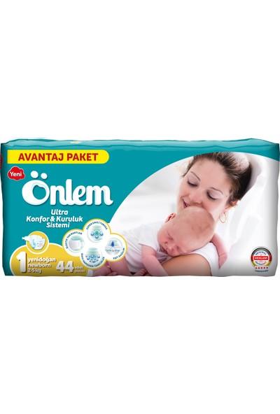 Önlem Bebek Bezi Avantaj Paket Newborn 44 Adet (2 - 5 kg)
