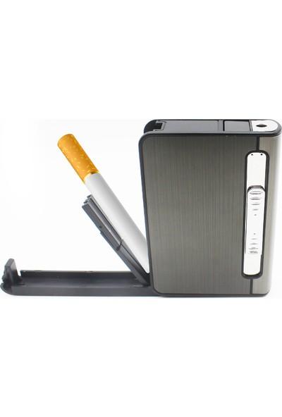 Baskı Gazlı Çakmaklı Sigara Tabakası