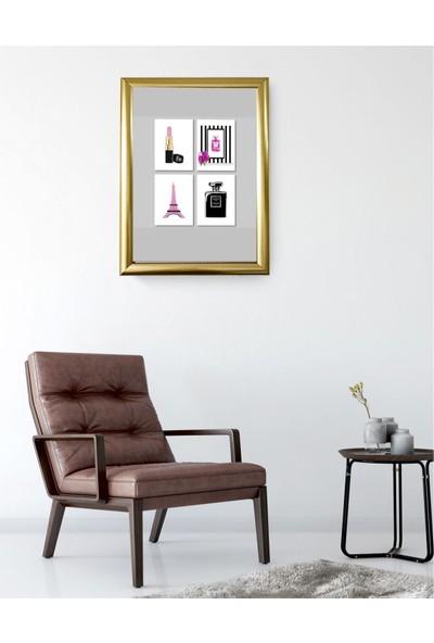 Lyn Home Tablo 33.5x43,5 Gold Tablo