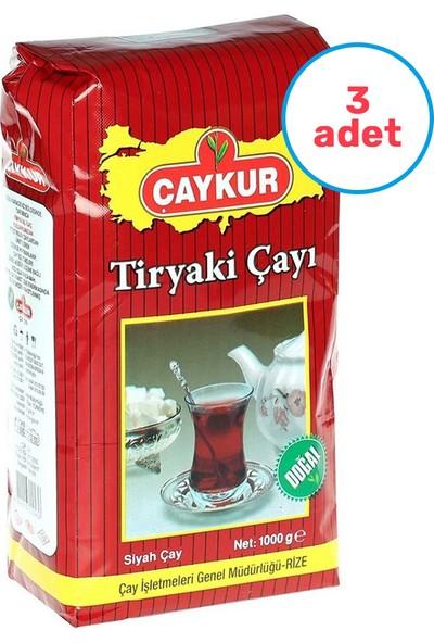 Çaykur 3'lü Tiryaki Çay 1000 gr