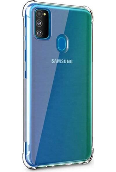 CepArea Samsung Galaxy M21 Kılıf Ceparea Nitro Anti Shock Darbeye Dayanıklı Kapak