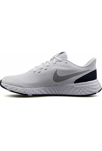Nike Revolution 5 Erkek Koşu Ayakkabısı Beyaz 43