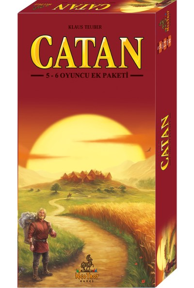 Neotroy Games Catan 5-6 Oyuncu Ek Paketi