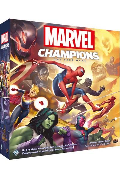 Neotroy Games Marvel Champions Kutu Oyunu