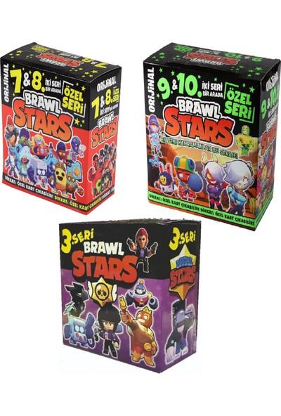 Redro Home Brawl Stars 3'lü Devasa Set 7&8 | 9&10 ve 3.seri Toplam 1260 Adet Oyun Kartı
